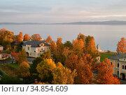 Petrozavodsk top view. Стоковое фото, фотограф Знаменский Олег / Фотобанк Лори