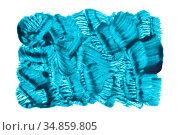 Green blue rectangle by translucent brush strokes. Стоковая иллюстрация, иллюстратор Роман Сигаев / Фотобанк Лори