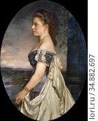 Angeli Heinrich Von - Princess Beatrice Later Princess Henry of Battenberg... Редакционное фото, фотограф Artepics / age Fotostock / Фотобанк Лори