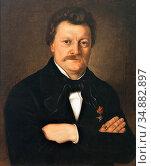 Boch Anton - Portrait Des Dr. J. Schmid Von Lauterach - Austrian ... Редакционное фото, фотограф Artepics / age Fotostock / Фотобанк Лори