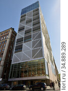 Northwest Corner Science Building, new addition to Columbia University's Beaux-Arts campus master plan. Нью-Йорк, США (2019 год). Редакционное фото, фотограф Валерия Попова / Фотобанк Лори
