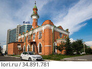 The Thousandth Anniversary of Islam Mosque in Kazan (2018 год). Редакционное фото, фотограф Юлия Белоусова / Фотобанк Лори