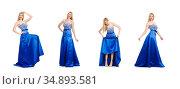 Woman in fashion clothing concept. Стоковое фото, фотограф Elnur / Фотобанк Лори