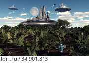 UIG-71096_RF_28_FUTURESCAPE_199A2H. Стоковое фото, фотограф UNIVERSAL IMAGES GROUP / age Fotostock / Фотобанк Лори
