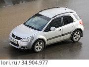 Suzuki SX4. Редакционное фото, фотограф Art Konovalov / Фотобанк Лори