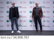 Michel Ruben, Javier Fuentes Leon attends the photocall of the movie... Редакционное фото, фотограф AGF / age Fotostock / Фотобанк Лори