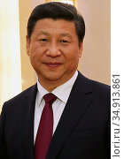 Xi Jinping (born 15 June 1953) is the General Secretary of the Communist... (2013 год). Редакционное фото, фотограф Pictures From History / age Fotostock / Фотобанк Лори