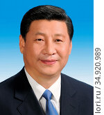 Xi Jinping (born 15 June 1953) is the General Secretary of the Communist... (2015 год). Редакционное фото, фотограф Pictures From History / age Fotostock / Фотобанк Лори