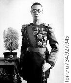 Aisin-Gioro Pu Yi (7 February 1906 – 17 October 1967), of the Manchu... (2015 год). Редакционное фото, фотограф Pictures From History / age Fotostock / Фотобанк Лори