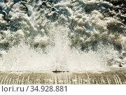 Плотина. Стоковое фото, фотограф E. O. / Фотобанк Лори