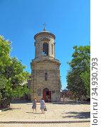 Кафедральный собор святого Иоанна Предтечи, Керчь (2020 год). Редакционное фото, фотограф Мария Кылосова / Фотобанк Лори