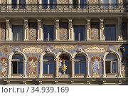 Haus Zum goldenen Becher in Wien, Österreich, Europa | Haus Zum goldenen... Стоковое фото, фотограф Peter Schickert / age Fotostock / Фотобанк Лори