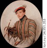 Briullov Alexander - Portrait of His Serene Highness Prince Alexander... Стоковое фото, фотограф Artepics / age Fotostock / Фотобанк Лори