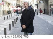 Eduardo Blanco poses for a photo session on February 12, 2018 in ... Редакционное фото, фотограф Nacho López / age Fotostock / Фотобанк Лори