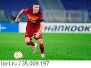 Jordan Veretout (AS Roma) during the match ,Rome, ITALY-05-11-2020. Редакционное фото, фотограф Federico Proietti / Sync / AGF/Federico Proietti / / age Fotostock / Фотобанк Лори