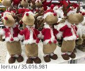 Christmas decoration for sale. Редакционное фото, фотограф Andre Maslennikov / age Fotostock / Фотобанк Лори