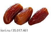 Fresh dates, healthy snack. Стоковое фото, фотограф Яков Филимонов / Фотобанк Лори