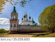 Spaso-Yakovlevsky Monastery (2019 год). Стоковое фото, фотограф Юлия Бабкина / Фотобанк Лори