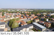 Milan suburb Cesano Maderno, Milan, Italy. Стоковое фото, фотограф Andre Maslennikov / age Fotostock / Фотобанк Лори