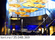 Valencia, Oceanografic (Submarino restaurant). Comunidad Valenciana... Стоковое фото, фотограф J M Barres / age Fotostock / Фотобанк Лори