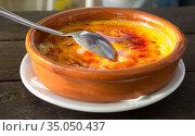 Tasty dessert Trinity cream. Стоковое фото, фотограф Яков Филимонов / Фотобанк Лори