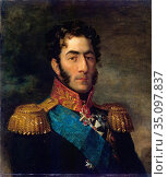 George Dawe - Portrait of General Pyotr Bagration (1765-1812). Редакционное фото, фотограф Artepics / age Fotostock / Фотобанк Лори