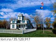 USA, Great Plains, Western, Nebraska, North Platte, Buffalo Bill ... Стоковое фото, фотограф Christian Heeb / age Fotostock / Фотобанк Лори