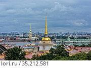 Летний Санкт-Петербург (2019 год). Редакционное фото, фотограф Сергей Дрозд / Фотобанк Лори