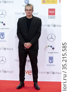 Mariano Barroso attends to 'Jose Maria Forque Awards' 2021 red carpet... Редакционное фото, фотограф Nacho López / age Fotostock / Фотобанк Лори