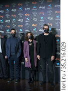 Dani Rovira, Ana Belen, Mariano Barroso attends 35th Goya Awards ... Редакционное фото, фотограф Manuel Cedron / age Fotostock / Фотобанк Лори