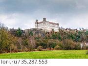 Willibaldsburg is a spur castle, built around the year 1353, in Eichstatt... Стоковое фото, фотограф Zoonar.com/Boris Breytman / easy Fotostock / Фотобанк Лори