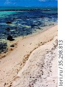 Foam footstep indian ocean some stone in the island of deus cocos... Стоковое фото, фотограф Zoonar.com/lkpro / easy Fotostock / Фотобанк Лори