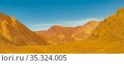 Arid landscape scene at aconcagua national park, mendoza province... Стоковое фото, фотограф Zoonar.com/Daniel Ferreira-Leites Ciccarino / easy Fotostock / Фотобанк Лори