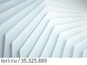 Abstract geometric installation, background pattern. Стоковое фото, фотограф EugeneSergeev / Фотобанк Лори