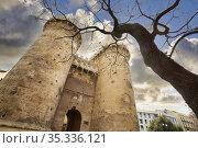 Torres de Quart. Valencia. Comunidad Valenciana. Spain. Стоковое фото, фотограф Javier Larrea / age Fotostock / Фотобанк Лори