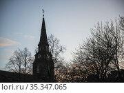 The Parish Church of St Cuthbert, Edinburgh, Scotland. Стоковое фото, фотограф Matthew Williams-Ellis / age Fotostock / Фотобанк Лори