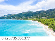 Seychelles beach sea ocean landscape Mahé Mahe island nature vacation... Стоковое фото, фотограф Markus Mainka / easy Fotostock / Фотобанк Лори