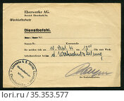 Europa, Deutschland, Sachsen, Ebersbach, Zeit des 2. Weltkrieges, ... Редакционное фото, фотограф Historisches Auge Ralf Feltz / age Fotostock / Фотобанк Лори