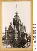 Europa, Deutschland, Berlin, Heilig-Kreuz-Kirche , Motiv aus dem ... Редакционное фото, фотограф Historisches Auge Ralf Feltz / age Fotostock / Фотобанк Лори