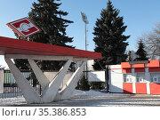 Тамбов, стадион Спартак. Редакционное фото, фотограф Дмитрий Неумоин / Фотобанк Лори
