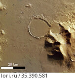 MARS Hellas Basin -- 2005 -- Curiouser and curiouser.This unusual... Редакционное фото, фотограф Jonathan William Mitchell / age Fotostock / Фотобанк Лори