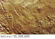 MARS Valles Marineris -- 14 Oct 2004 -- The western region of this... Редакционное фото, фотограф Jonathan William Mitchell / age Fotostock / Фотобанк Лори