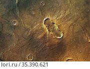 MARS Hesperia Planum -- 05 May 2004 -- The HRSC on board ESA's Mars... Редакционное фото, фотограф Jonathan William Mitchell / age Fotostock / Фотобанк Лори