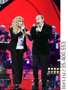 Musical group Ricchi e Poveri: Marina Occhiena, Franco Gatti. Special... Редакционное фото, фотограф AGF Antonelli / AGF/Maria Laura Antonelli / age Fotostock / Фотобанк Лори