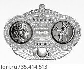 Drachma of Alexander the Great. Coin minted around 301-297 BC. at... Редакционное фото, фотограф Jerónimo Alba / age Fotostock / Фотобанк Лори