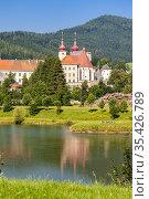 St. Lambrecht's Abbey in Styria, Austria. Стоковое фото, фотограф Richard Semik / easy Fotostock / Фотобанк Лори