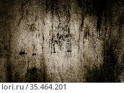 Abstract horror old empty ragged painted metal cracked grunge scary dark mystical monochrome background with veined texture with strange light. Стоковое фото, фотограф Светлана Евграфова / Фотобанк Лори