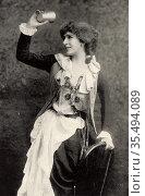 Mrs FR Benson (born Constance Featherstonhaugh - 1860-1945) English... Редакционное фото, агентство World History Archive / Фотобанк Лори