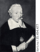 Heinrich Schutz (1585-1672) German composer. Редакционное фото, агентство World History Archive / Фотобанк Лори