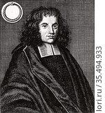 Baruch (Benedict) Spinoza (Spinosa or Despinosa - 1632-1677) Dutch... Редакционное фото, агентство World History Archive / Фотобанк Лори